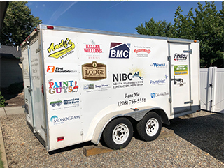 NIBCA Event Trailer Rental Coeur d'Alene