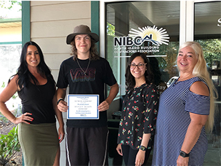 PWB NIBCA Scholarship Winner Dylan Bishop